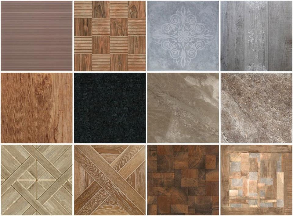 Разновидность современной напольной плитки