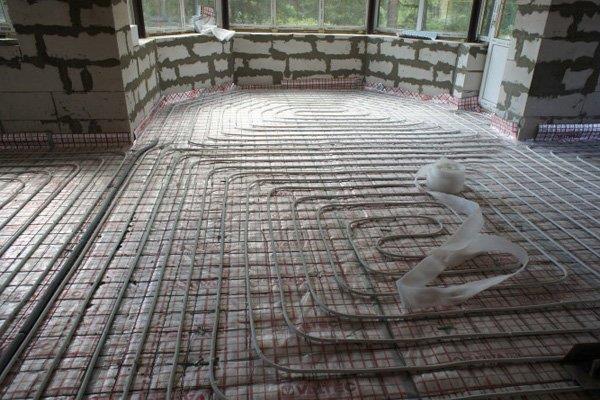 Комната сложной формы