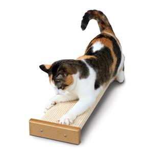 когтеточка для кота напольная