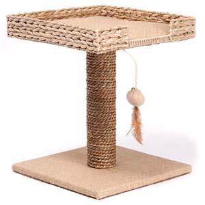 когдеточка для кота из джута