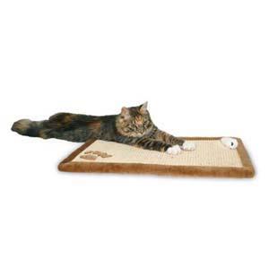когтеточка-коврик для кота