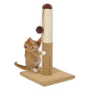 когтеточка-столбик для кота