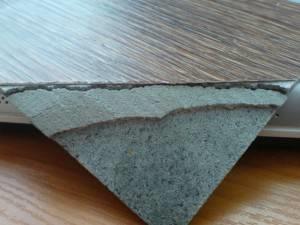 Вид материала по слоям