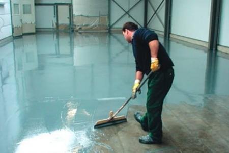 Наливные полы, технология нанесения напольного покрытия