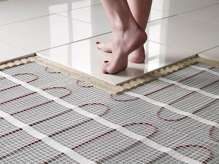 Керамическая плитка и керамогранит для теплого пола