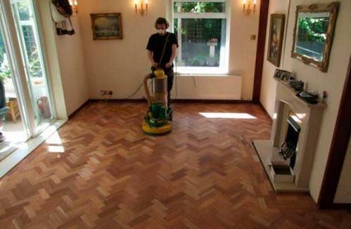 обновление старого деревянного покрытия
