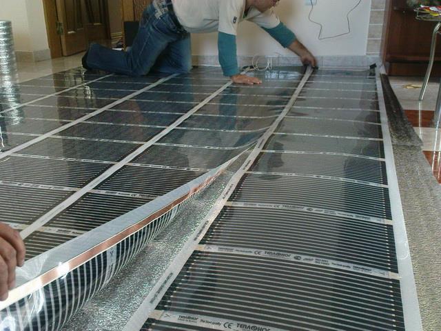 Используем теплый пол электрический в загородном доме или на даче 2