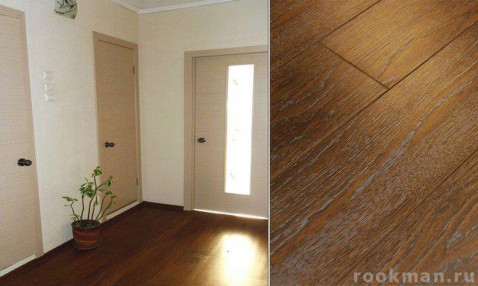 Ламинат Richmans Floor Ильм брашированный в интерьере