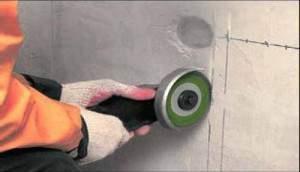 как проштробить стену под кабель