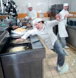 Покрытия для кухонь, баров и ресторанов