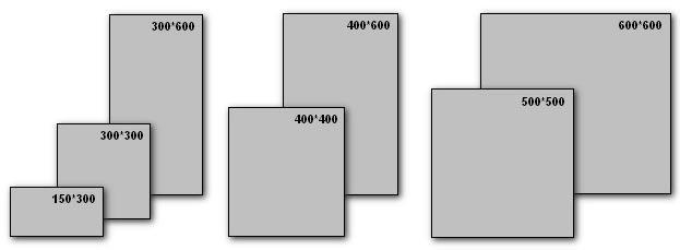 Размеры плитки квадратные прямоугольные