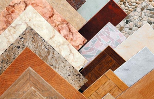 Размеры плитки для пола прямоугольной формы