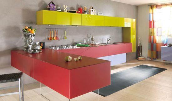 Цвет кухни - секреты влияния