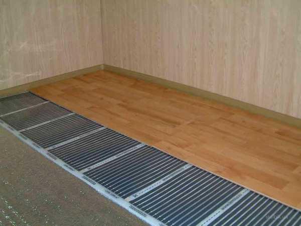 Карбоновые пленки - лучший электрический теплый пол под ламинат