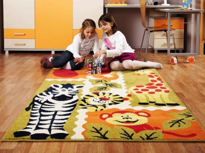 Выбор дизайна ковролина в детскую. Фото примеры