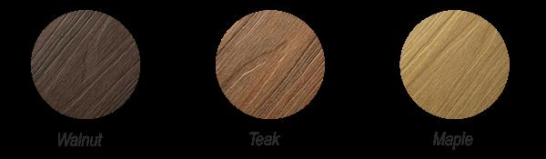 цвета доски из древесно-полимерного композита