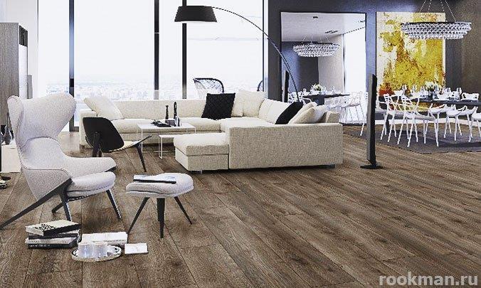 Ламинированное напольное покрытие My Floor Residence Сосна горная коричневая