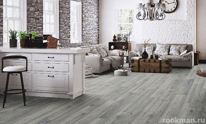 Ламинированное покрытие My Floor Дуб сельский серебристый из коллекции Cottage