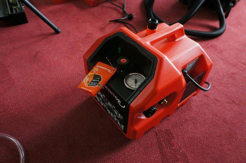 электрический опрессовщик системы отопления