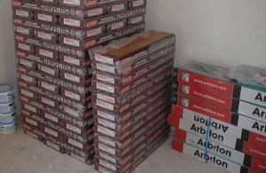 коробки с ламинатом
