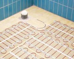 Резистивный электрический теплый пол