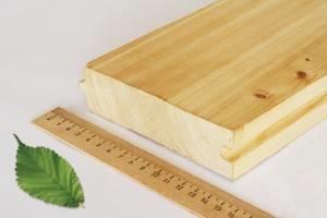 Измеряем ширину доски