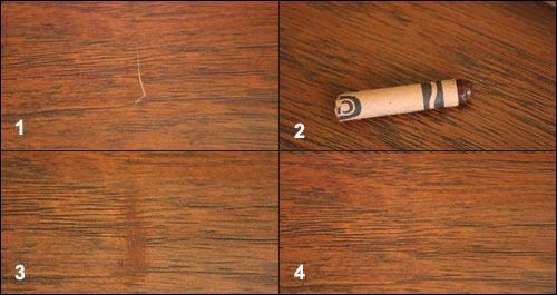 восковой карандаш для ламината как пользоваться