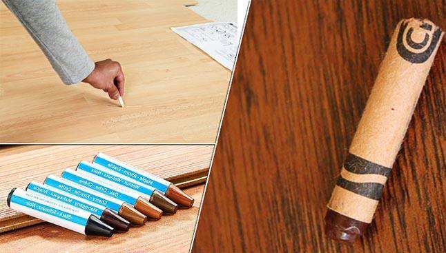 восковой карандаш для ламината отзывы