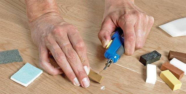 Воск для ламината ремонт покрытия
