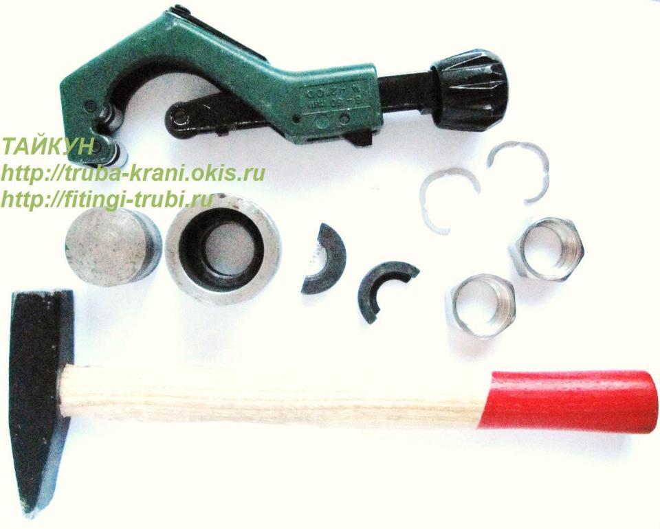 Инструмент для монтажа трубы теплого пола