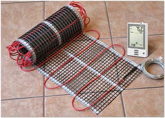 Комплектующие для кабельного теплого пола