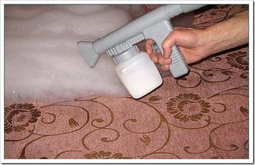 Как поднять ворс на ковролине?