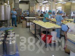 Полимерные полы Элакор на пищевом производстве