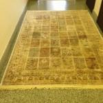 химчистка ковров шаги на фабрике
