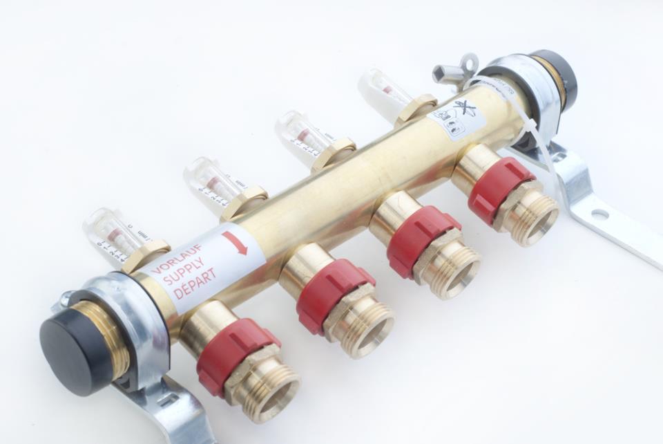 Местная регулировка температуры в петлях осуществляется с помощью термостатов