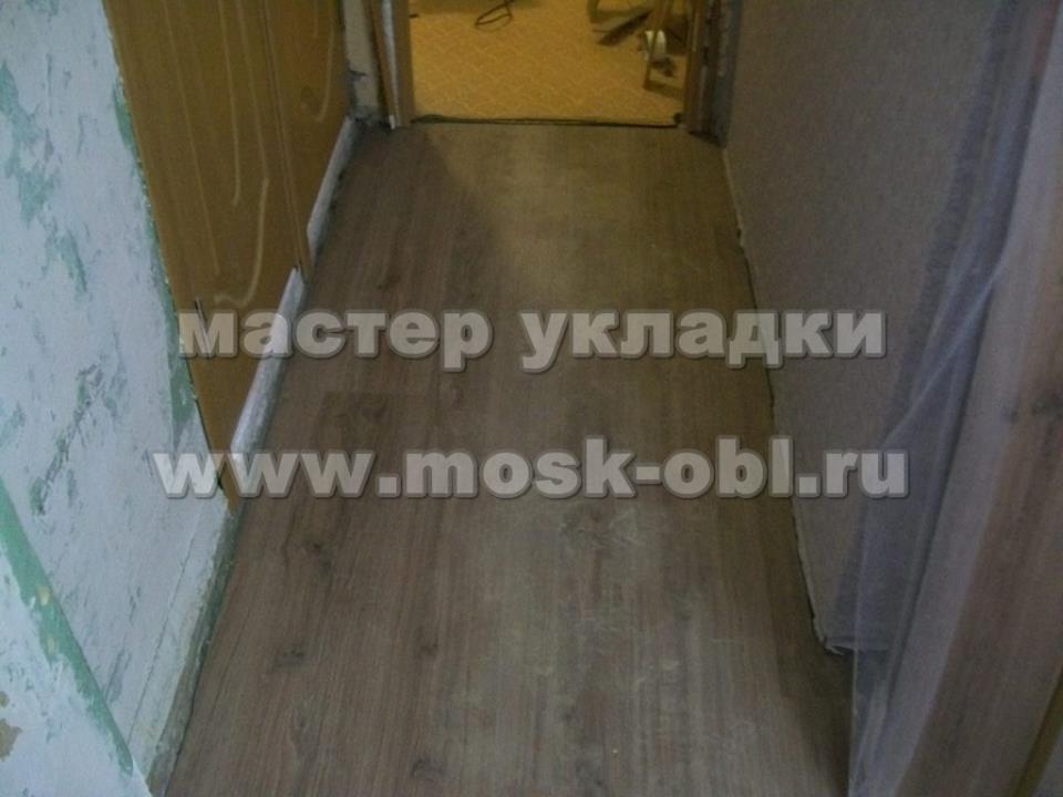 как выглядит ламинат в коридоре