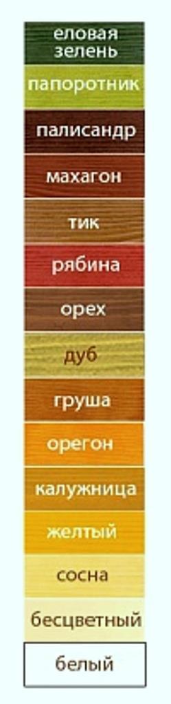 боритекс цвета