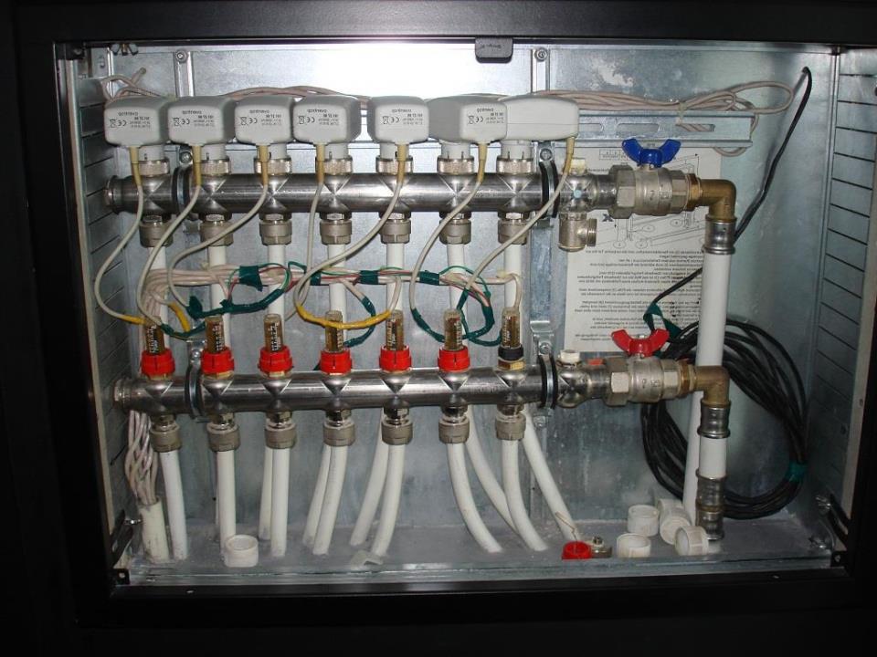 Подключение теплого пола к источнику