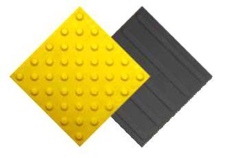 Тактильная ПВХ плитка для помещений