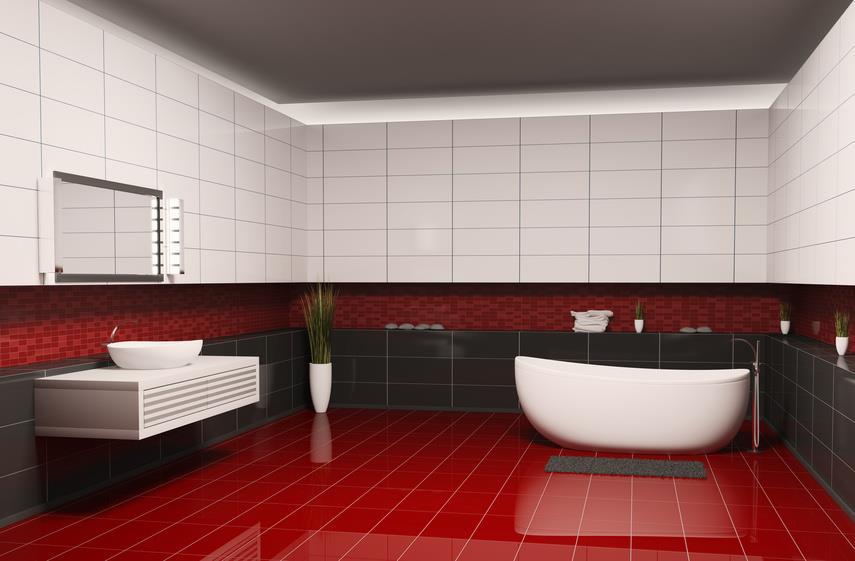 Дизайн плитки ванна пол