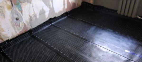 изоляция бетонного пола