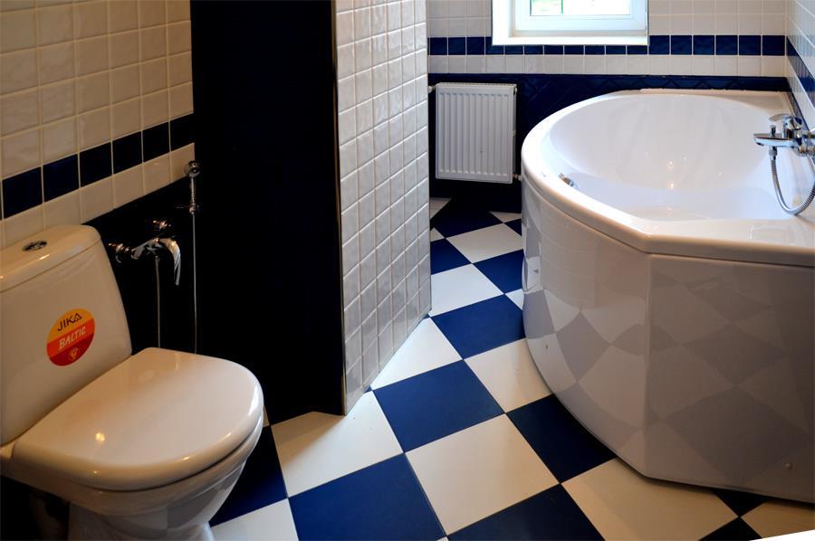 порядок укладки плитки в ванной