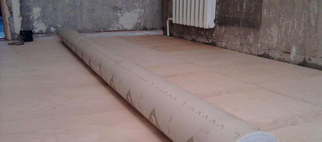 деревянная подложка