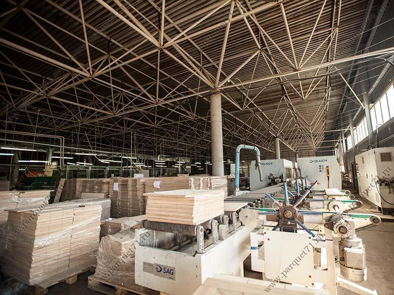 Склад древообрабатывающего завода
