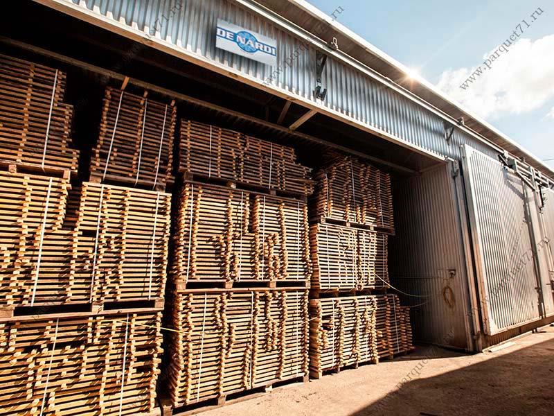 Современные сушильные камеры для древесины