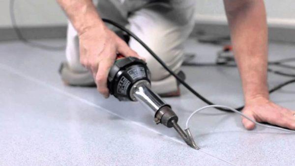Термофен для работы со сварочными шнурами