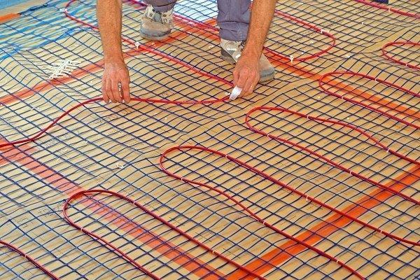 Сооружение электрической кабельной системы