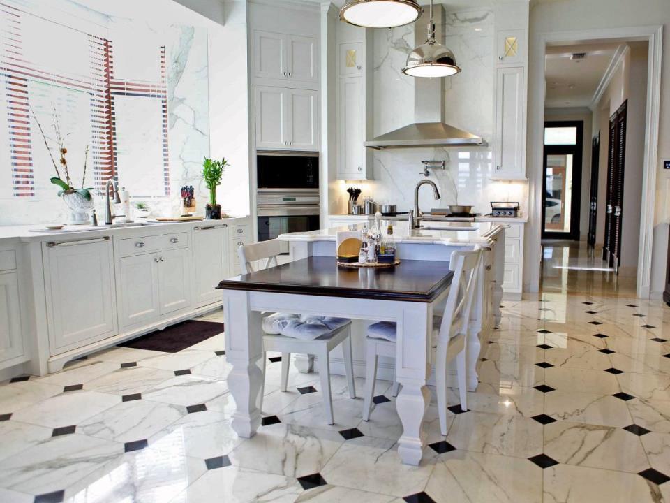 Пол на кухне – это завершающий этап ремонтного процесса