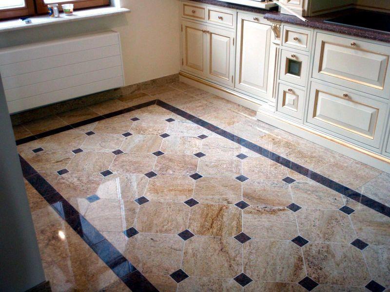 Кухонный пол должен быть надежным и долговечным
