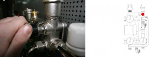 Настраиваем перепускной клапан смесительного узла теплого пола